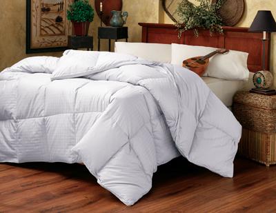 Down Etc Summer Weight Luxury King Baffle Box Comforter